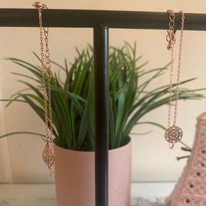 Jewelry - Set of Rose Gold Bracelets